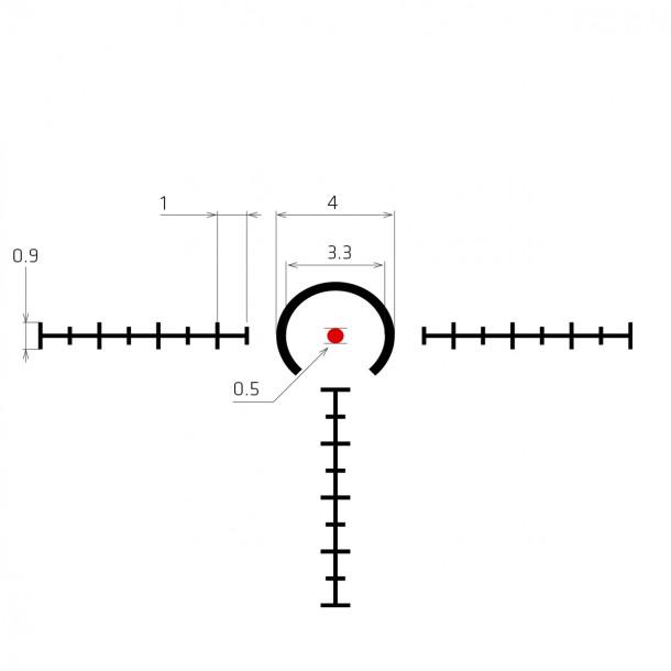 Hornet 1x Prismatic sight